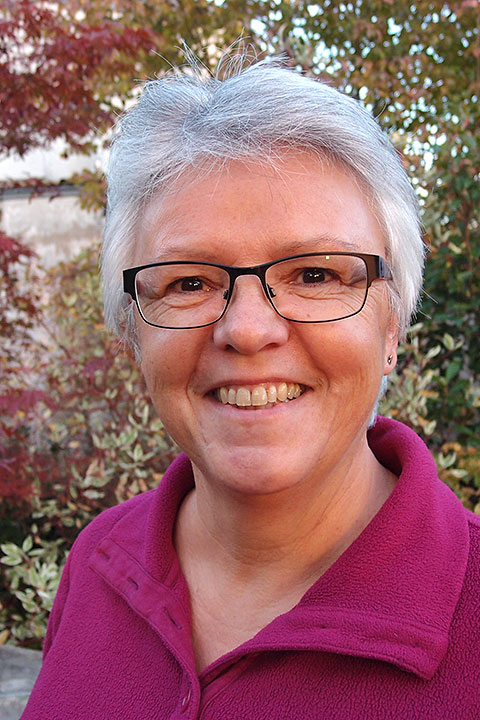 Doris Heger - Kirchendienerin