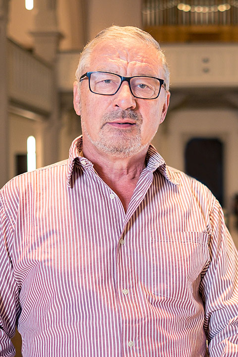 Werner Lang - Mitglied im Kirchengemeinderat
