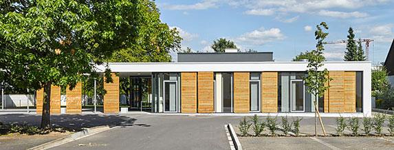 Gemeindehaus Button