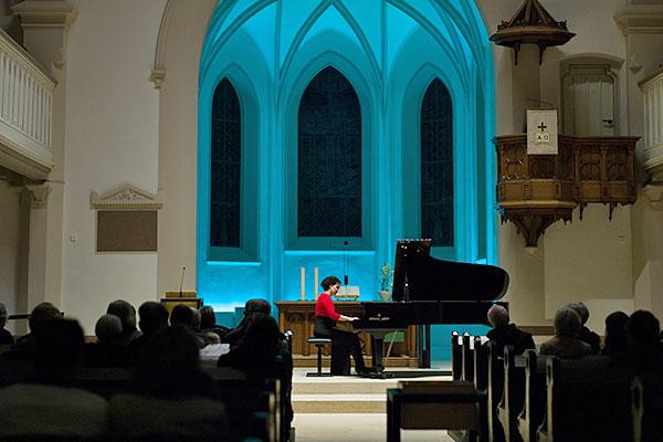 Klavierkonzert in der EKG Linkenheim